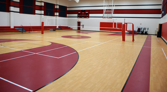 Signature sports flooring case studies read stories of for Basketball gym designs and layout