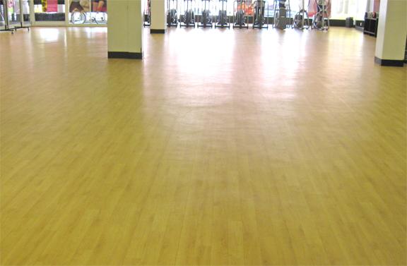 Floored in the locker room