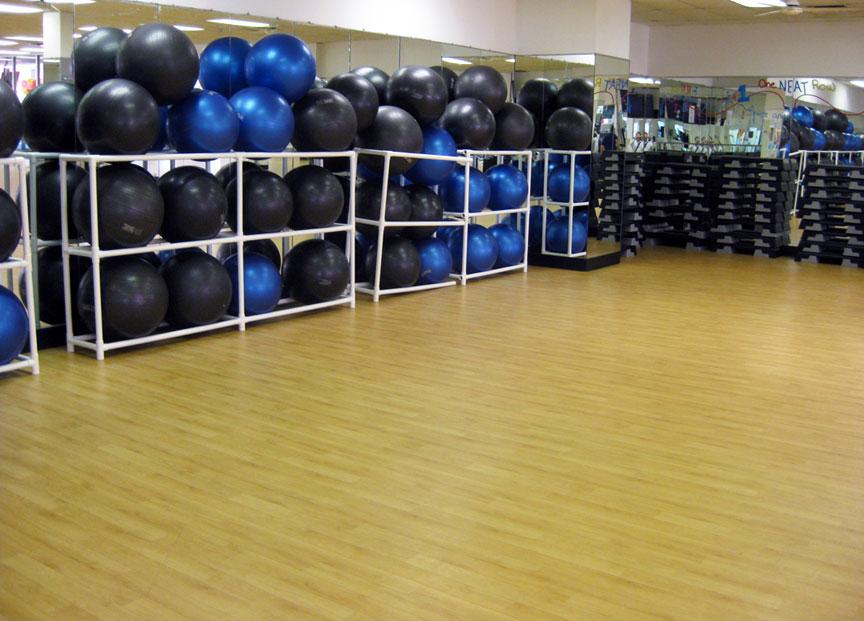 fitness studio flooring renovations how we helped