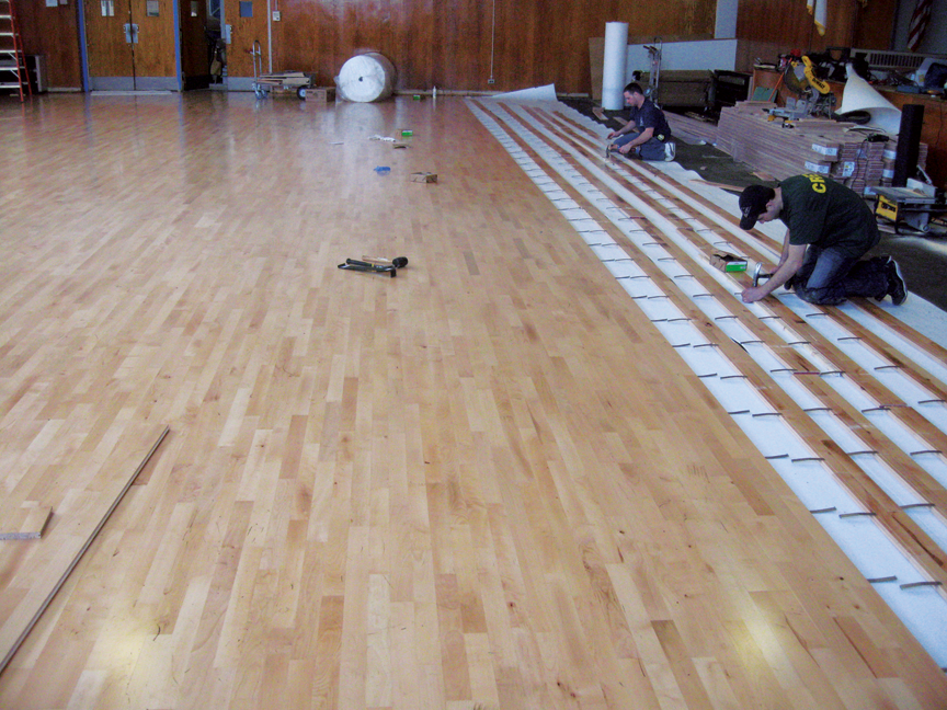 Basketball Floor Hardwood Gym Flooring For Basketball Courts