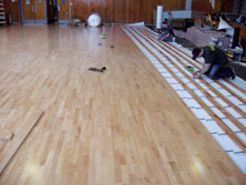 Basketball Floor Hardwood Gym Flooring For Basketball