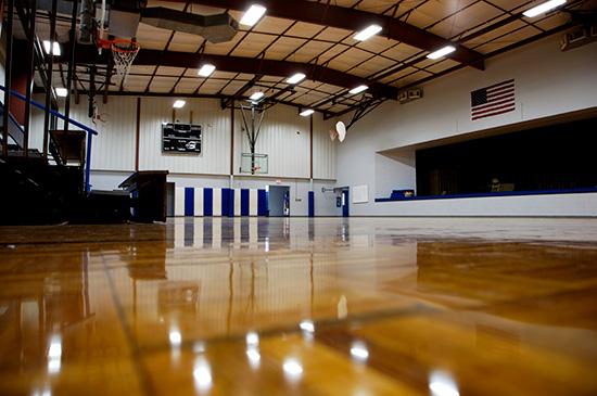 School Gym Flooring Multiuse Sports Flooring For High
