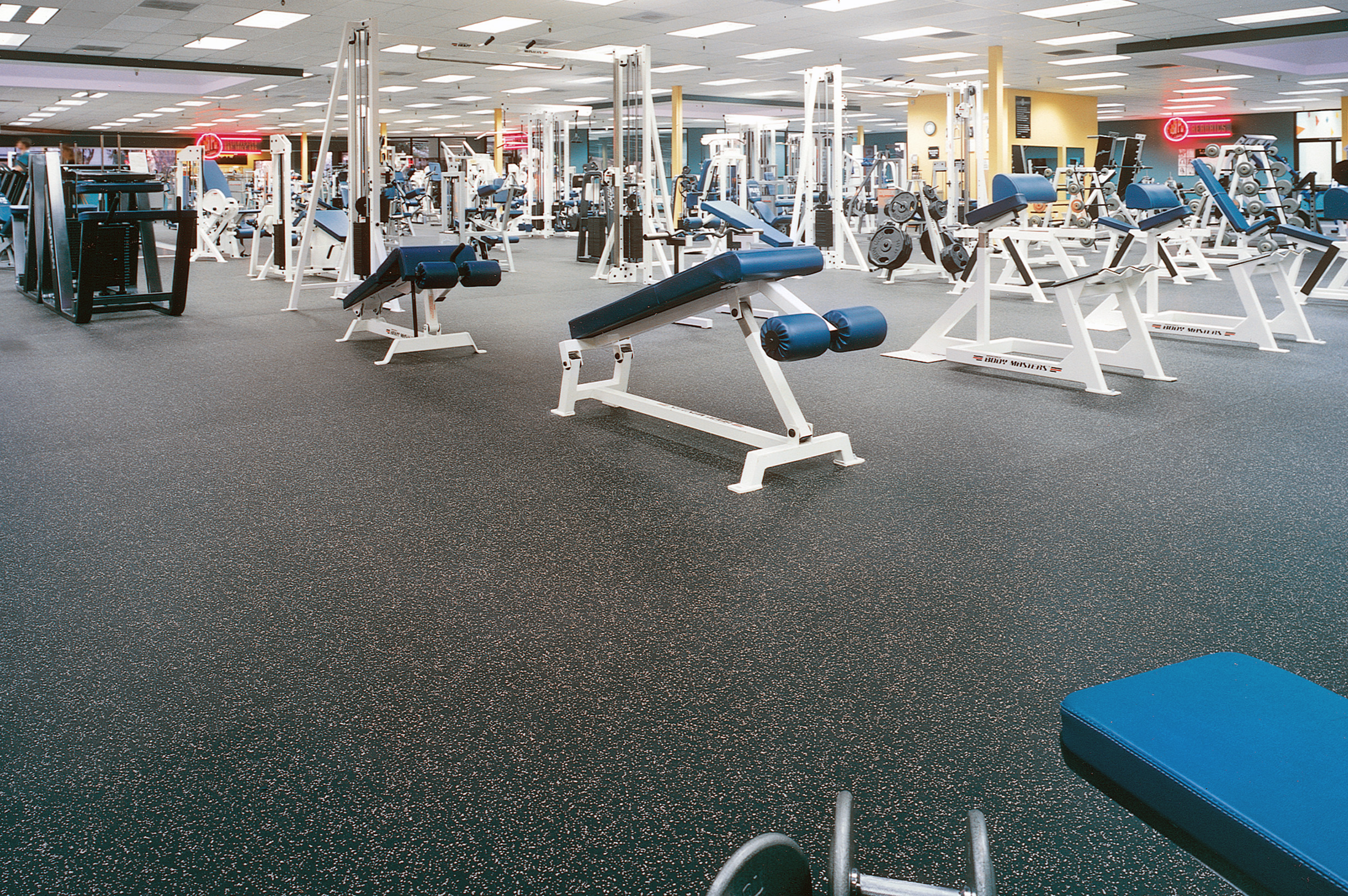 Rubber Sports Flooring RubberDeck Rubber Sports Floors In Rolls - How to clean interlocking rubber floor tiles